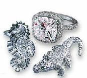 Jewelry manufacturers cast platinum easily with high pressure natural gas!